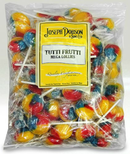 DOB16 DOBSONS WRAPPED TUTTI FRUTTI LOLLY